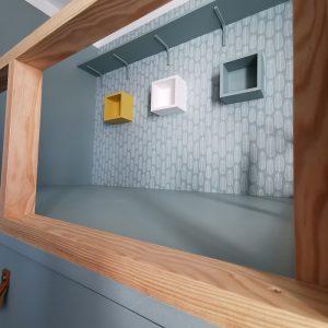 Une touche de bois en décoration d'intérieur pour rechauffer l'espace à Bayonne