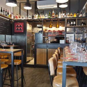 Agencement sur mesure bar à viandes Biarritz