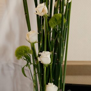 Composition florale pour mariage sur Bordeaux